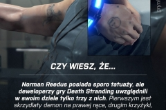 Tatuaże Normana Reedusa